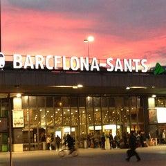 Photo taken at Sants Estació by Luis S. on 1/30/2013