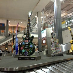 Photo taken at Austin Bergstrom International Airport (AUS) by Samantha N. on 4/1/2013