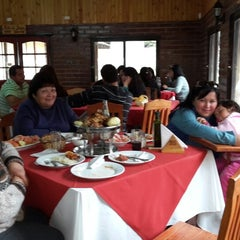 Photo taken at Los Pimientos De Auco Restaurant by Rodrigo M. on 7/27/2014