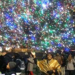 Photo taken at 30 Rockefeller Plaza by Arnessa B. on 12/13/2012