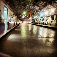 Photo taken at Chhatrapati Shivaji Terminus by Harsh M. on 2/12/2013