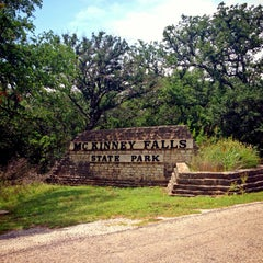 Photo taken at McKinney Falls State Park by Daniel on 5/26/2013