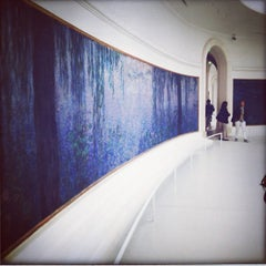 Photo taken at Musée de l'Orangerie by Vladimir on 5/10/2013