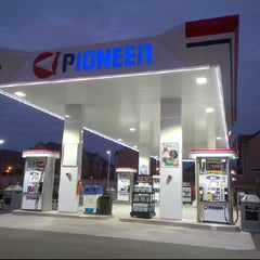 Photo taken at Pioneer Gas Station by Thompson L. C. on 11/14/2012