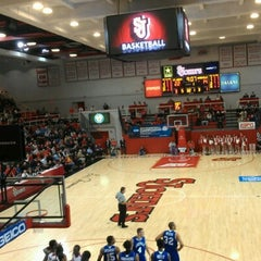 Photo taken at Carnesecca Arena by Pascal M. on 12/22/2012