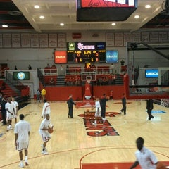 Photo taken at Carnesecca Arena by Pascal M. on 12/1/2012