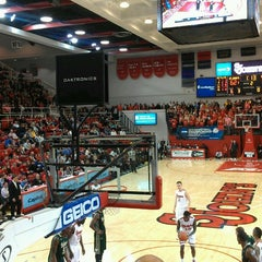 Photo taken at Carnesecca Arena by Pascal M. on 2/21/2013
