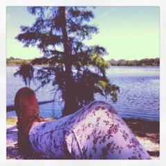 Photo taken at Lake Ivanhoe Park by BLiZY A. on 5/15/2013