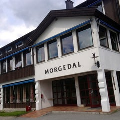 Photo taken at Morgedal Hotel Kviteseid by Fábio Renato M. on 6/14/2013