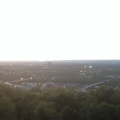 Photo taken at Lehigh University Lookout by CaroLina V. on 7/25/2014