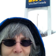 Photo taken at VIA Rail Ottawa by Pam D. on 2/28/2013