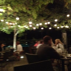 Photo taken at Solbar at Solage Calistoga by Julia on 9/19/2012