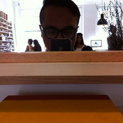 Photo taken at Warby Parker - Puck Store by Patrick P. on 8/12/2013