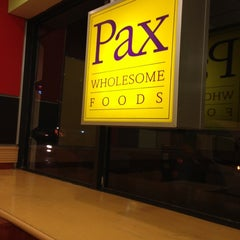 Photo taken at Pax Wholesome Foods by Daniel on 10/23/2012