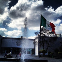 Photo taken at Museo Nacional de Antropología by Victor on 1/3/2013