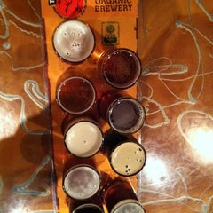Photo taken at ThirstyBear Brewing Company by Celine B. on 11/16/2011