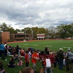Photo taken at Sidwell Friends School by Kevin M. on 10/18/2014