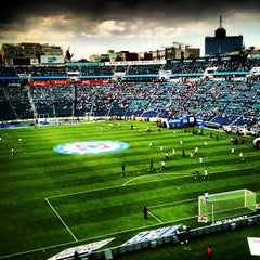 Photo taken at Estadio Azul by Luis R. on 3/30/2013