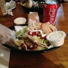 Photo taken at Mexigo Burrito Bar by Sam G. on 3/5/2013