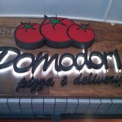 Photo taken at Pomodori Pizza by Luis Fernando S. on 1/7/2013