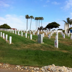 Photo taken at Fort Rosecrans National Cemetery by Valerie on 5/25/2013
