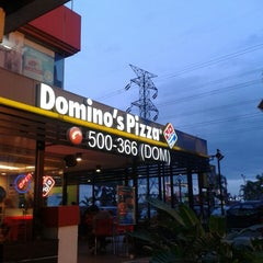 Photo taken at Domino's Pizza by Eky A. on 12/22/2013