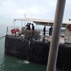 Photo taken at Royal Malaysian Navy, Sepanggar by Rafie on 1/16/2013