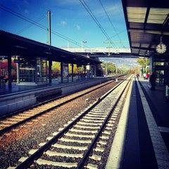 Photo taken at Speyer Hauptbahnhof by Vugar G. on 10/28/2012