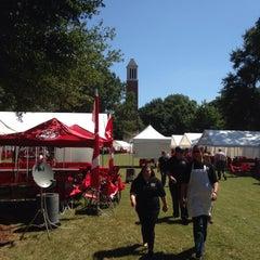 Photo taken at University of Alabama Quad by Debra on 9/19/2015