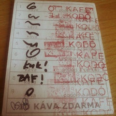 Photo taken at Kafe Kodó by Vera J. on 7/16/2014