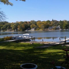 Photo taken at Lakeside Inn by Mike H. on 9/29/2012