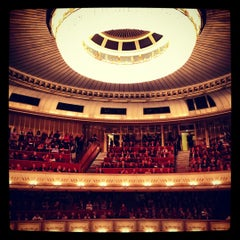 Photo taken at Wiener Staatsoper by Tatiana on 11/23/2012