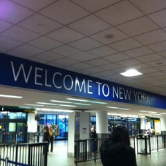 Photo taken at Terminal D (Delta Terminal) by Stephanie R. on 11/8/2012