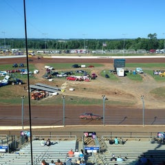 Photo taken at The Dirt Track at Charlotte Motor Speedway by David on 5/24/2013