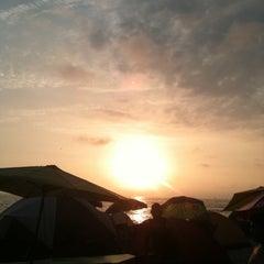 Photo taken at Playa El Silencio by Enrique Y. on 12/31/2012