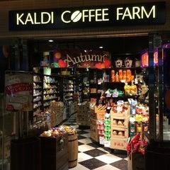 Photo taken at KALDI COFFEE FARM アトレ大井町2 by Leon Tsunehiro Yu-Tsu T. on 9/14/2014