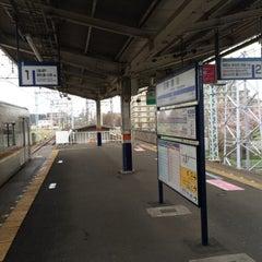 Photo taken at 柳瀬川駅 (Yanasegawa Sta.) (TJ15) by Leon Tsunehiro Yu-Tsu T. on 3/30/2014