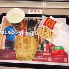 Photo taken at マクドナルド 桜新町店 by Leon Tsunehiro Yu-Tsu T. on 1/31/2014
