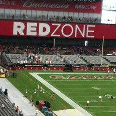 Photo taken at University of Phoenix Stadium by Barbara on 9/30/2012