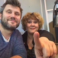 Photo taken at Maximum 103.7 FM by Olga M. on 10/24/2014