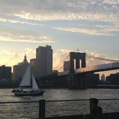 Photo taken at Brooklyn Bridge Park by Elea B. on 6/29/2013