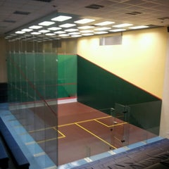 Photo taken at Hong Kong Squash Centre 香港壁球中心 by Olly A. on 7/17/2013