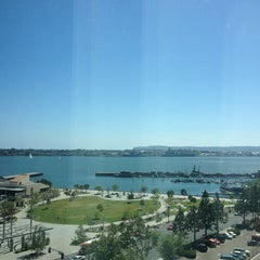 Photo taken at Embassy Suites San Diego Bay - Downtown by Nessa C. on 6/5/2013