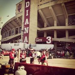 Photo taken at Memorial Stadium by chicken l. on 11/10/2012