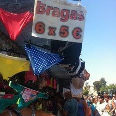 Photo taken at Mercadillo de Huelin by Manel on 8/6/2014