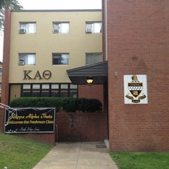 Photo taken at Kappa Alpha Theta (Gamma Theta Chapter) by Mollie T. on 8/18/2013