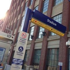 Photo taken at MetroLink - Stadium Station by 4⃣Leonidas™ on 11/29/2014