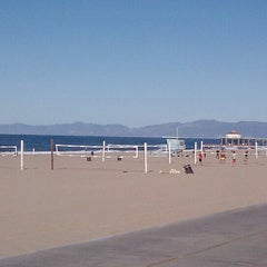 Photo taken at Manhattan Beach by Pete H. on 11/10/2012