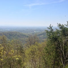 Photo taken at House Mountain Overlook by Brett C. on 4/20/2014