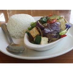 Photo taken at Thai Cafe by Jamie N. on 2/22/2014